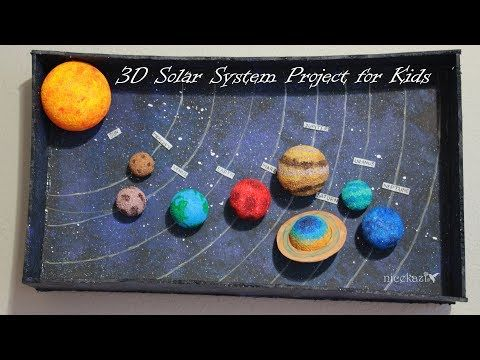 How to Make 3D Solar System Project for Kids (with Pictures)