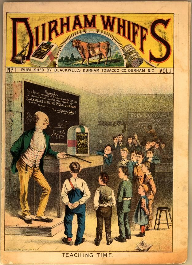 Durham Whiffs. From the Emergence of Advertising in America, 1850-1920 online collection, Duke University Libraries.