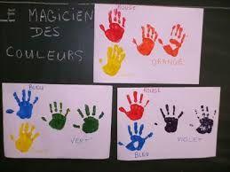 le magicien des couleurs activités - Recherche Google