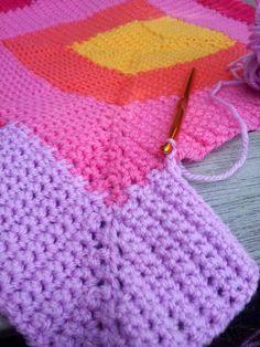 Free Ten Stitch Blanket Crochet Pattern