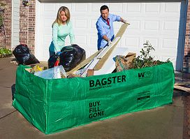 Holy Moly....YES! The Bagster, Dumpster Bag, Portable Dumpster | Waste Management