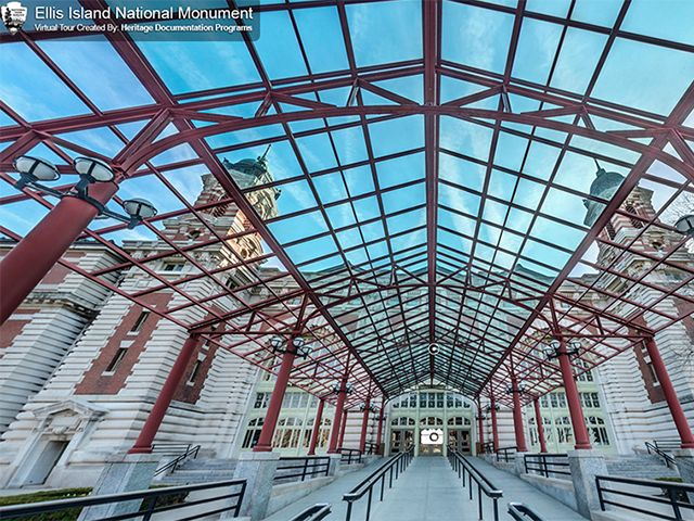 The National Park Services has released a visual tour of Ellis Island with over 40 interactive photos. A lot of photos are of the south side, which is where you can find some never before areas of the abandoned hospitals.