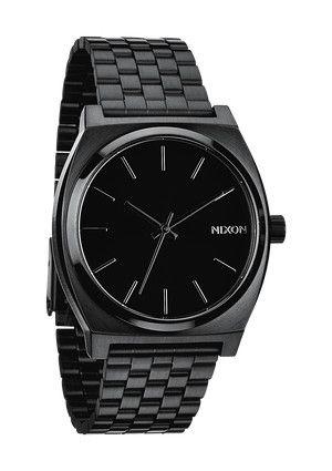 The Time Teller - All Black | Nixon