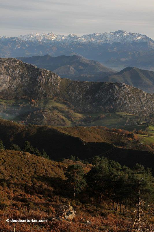 Rutas de senderismo por Asturias. España. Sierra del Sueve. https://www.desdeasturias.com/asturias/que-ver-y-que-hacer/rutas/