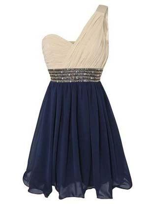 sweetheart one shoulder cute mini prom dress/homecoming dress on Etsy, $139.99