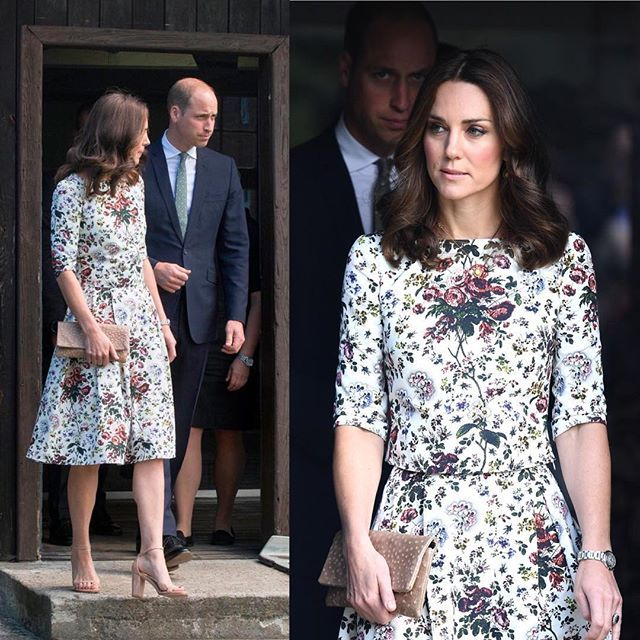The Duke and Duchess of Cambridge visited Stutthof Concentration Camp (18th July) . Stutthof was the first camp outside German borders, in operation from 2 September 1939, and the last camp liberated by the Allies on 9 May 1945. More than 65,000 victims died in the camp out of as many as 110,000 inmates deported there.