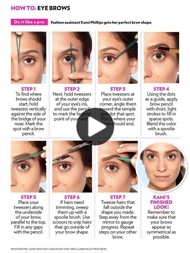How To Do Your Eyebrows Natural Brow Shape Places To Get Your Eyebrows Waxed Brow Eye In 2020 How To Color Eyebrows Natural Brows Eyebrow Makeup