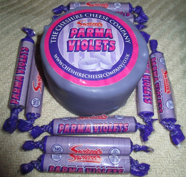 FOODSTUFF FINDS: Parma Violet Cheese - Cheshire Cheese Swizzels Matlow) When retro sweets get mixed with cheese....