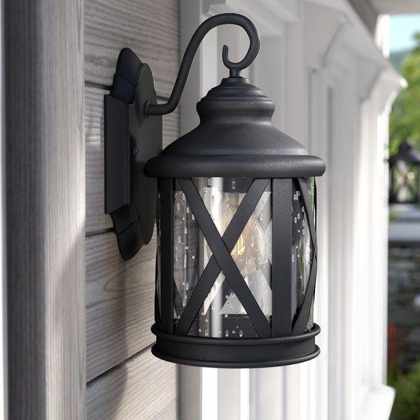 You Ll Love The Zeigler 1 Light Outdoor Wall Lantern At Wayfair Great Deals On All Lighting Products In 2020 Outdoor Wall Lantern Wall Lantern Outdoor Wall Lighting