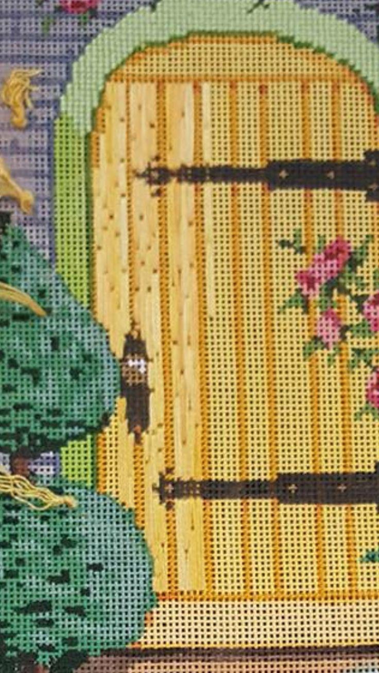 92 besten Needlepoint houses Bilder auf Pinterest | Handarbeit ...