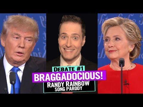 Randy Rainbow Makes the First Presidential Debate a Super Braggadocious Musical - WATCH - Towleroad