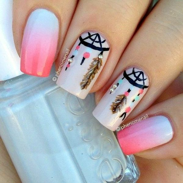 50 Vivid Summer Nail Art Designs and Colors 2016 - Page 2 of 2 - Latest - Best 25+ Summer Nail Art Ideas On Pinterest Pretty Nail Designs