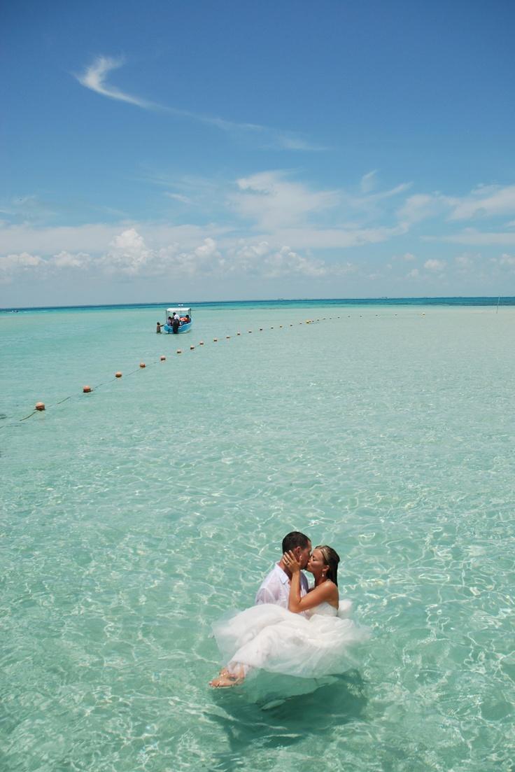 Yes, I do moment in Isla Mujeres, Quintana Roo. #YesIDo #Mexico #IslaMujeres #LiveItToBelieveIt