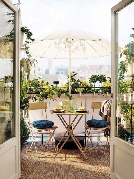 Die besten 25+ Sonnenschirm für balkon Ideen auf Pinterest - schone balkon und terrasse gestaltung akzente