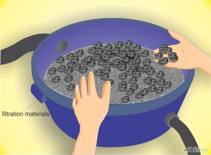 Cómo hacer un sistema de filtración para un estanque