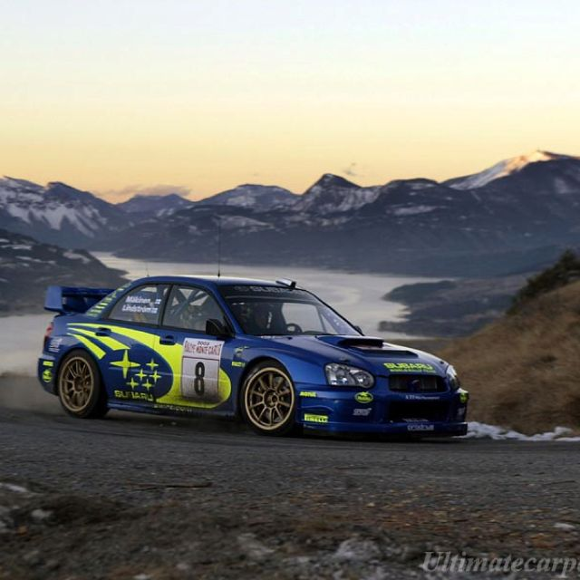 Subaru wrc 2003 - arguably the best STi design thus far...