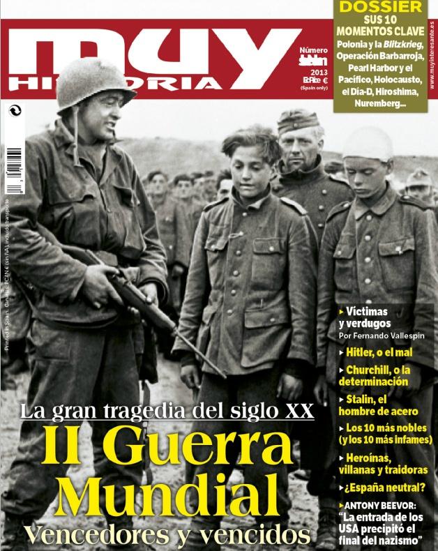 Portada del número 45 de la revista Muy Historia dedicada a la II Guerra Mundial