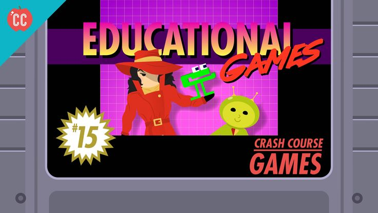 Chess, Number Munchers, The Oregon Trail! Today, we're going to talk about gaming's role in education. Now technically all games have an educational componen...
