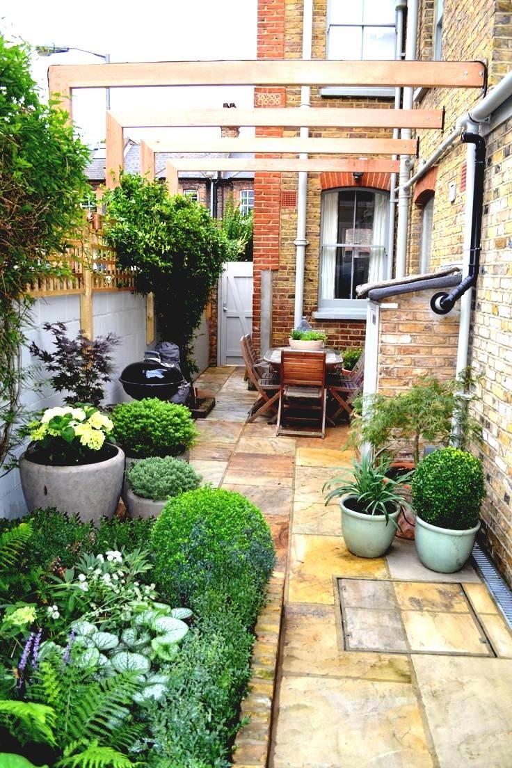 49 Small Garden Ideas Design Home Decor On A Budget Small Courtyard Gardens Courtyard Gardens Design Garden Ideas Terraced House