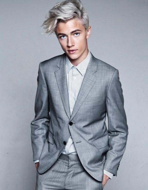 Prime 1000 Ideas About Silver Hair Men On Pinterest White Hair Men Hairstyles For Women Draintrainus