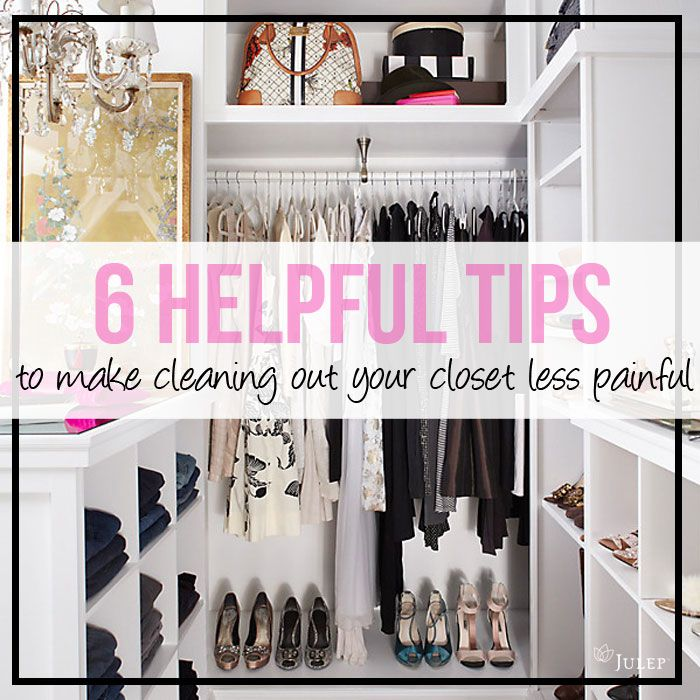 Spring cleaning closet edition organizational dreams for How to clean and organize your closet