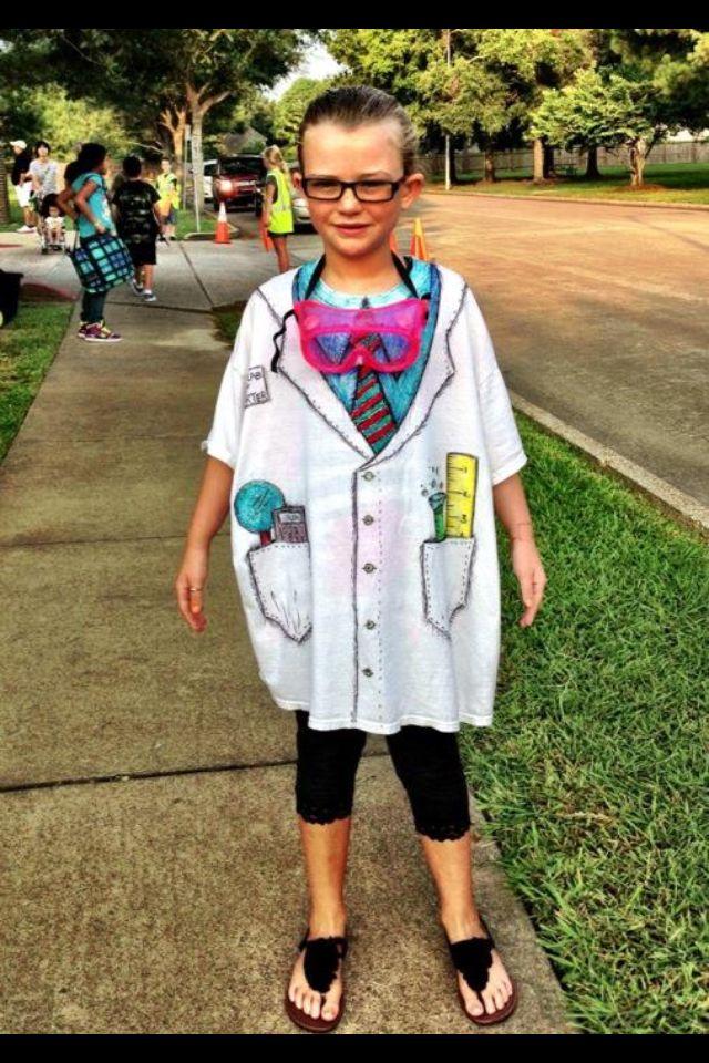 Dress like a scientist day shirt! | Haute glue momma ...