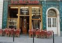 """A la Mort Subite,  Brussels.       Belgian pub named """"At the Sudden Death"""".  Loved the 1928 interior."""