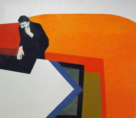 Gabor&Szerdi, sofa,oil,canvas,150x190cm,2011 on ArtStack #gabor-szerdi #art