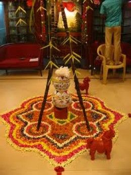 pongal harvest festival of  south India