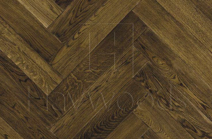 HW3004 Venture Plank European Oak Quadro UV Oiled Bevelled Herringbone Engineered Wood Flooring