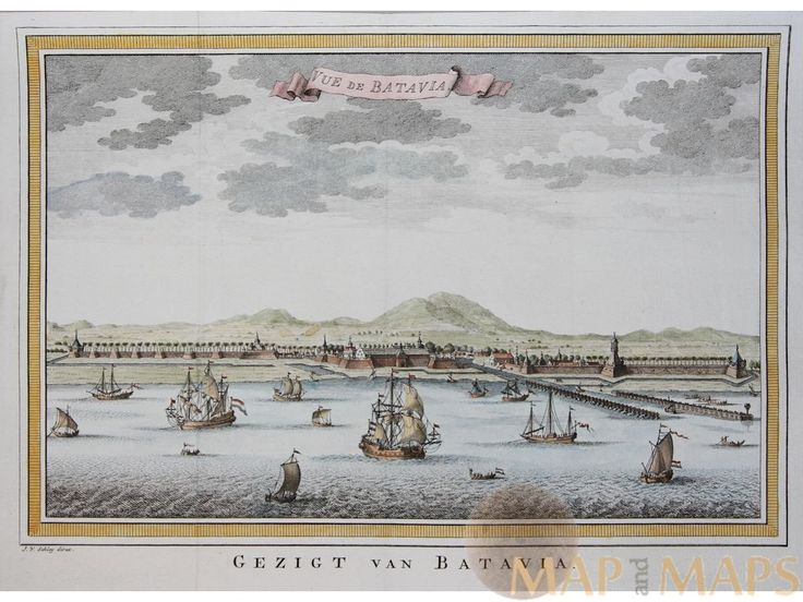 Fortress Batavia VOC History Indonesia Dutch vessels Bellin