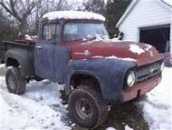 Image result for 1956 f100 4x4