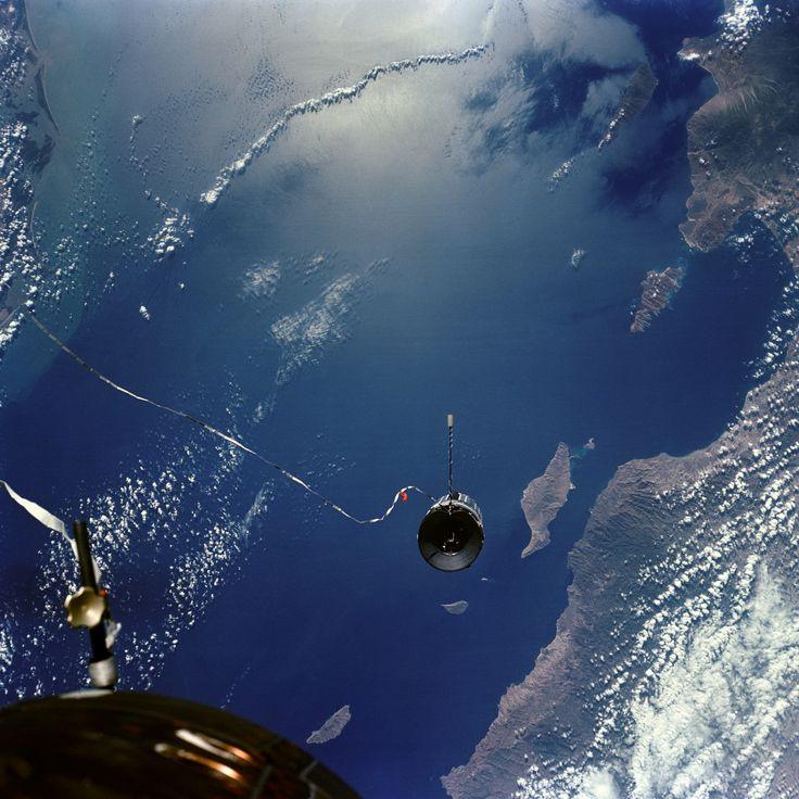 Gemini 11 and the Agena Target Vehicle