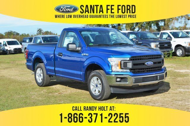 2018 Lightning Blue Ford F 150 Xl Truck 2 Door Automatic Ford F150 Ford F150 Xl 2018 Ford F150