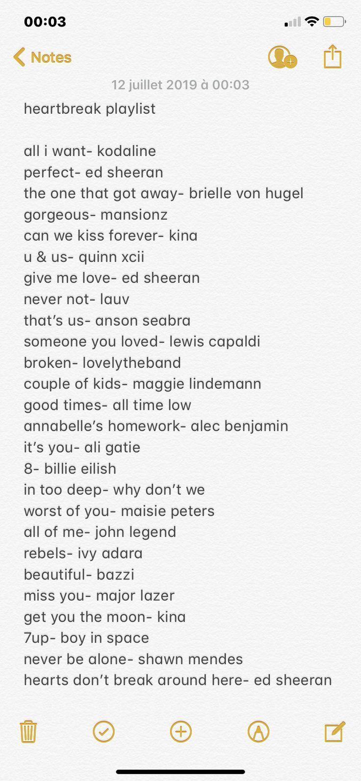 Playlist Fur Gebrochene Herzen Gebrochene Herzen Playlist Love Songs Playlist Song Suggestions Heartbreak Songs