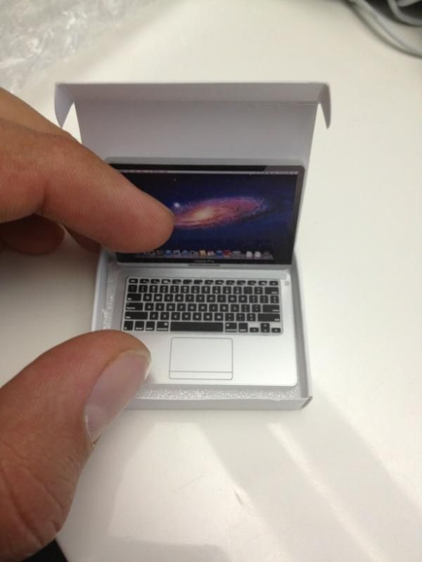 mini macbook pro. your mama needs this.
