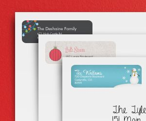 Save 50%: 140 Holiday Labels for Just $3.99
