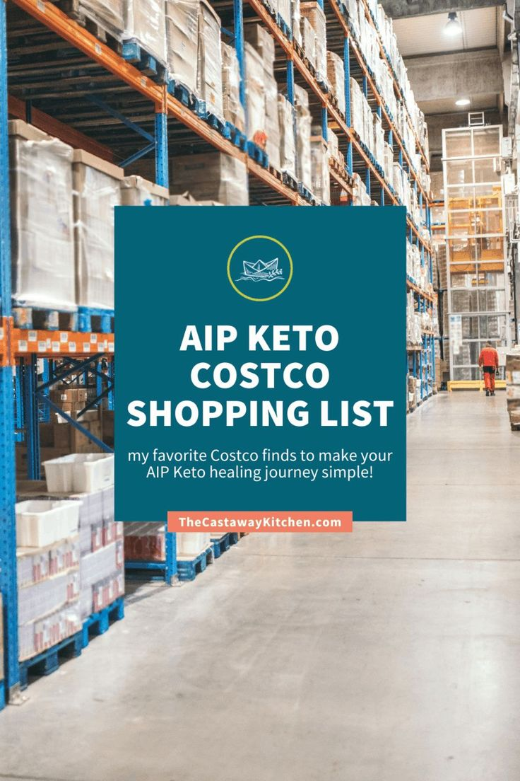Aip keto costco shopping list the castaway kitchen in