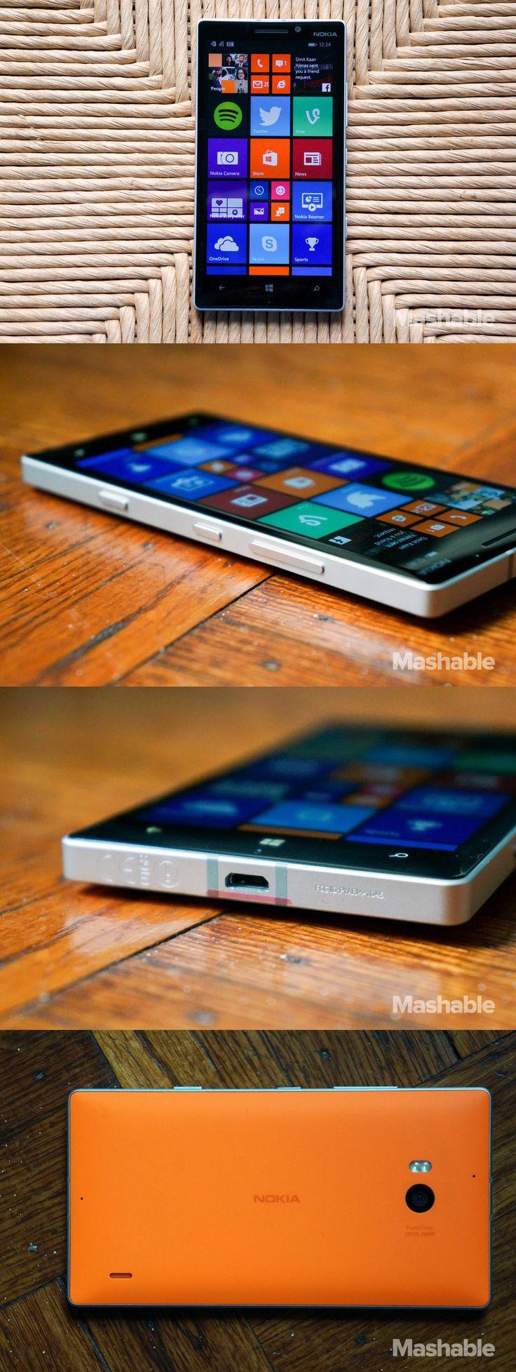 The Nokia Lumia 930.