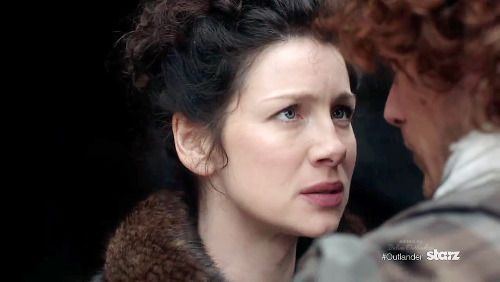 Edited screens from the new Outlander Trailer 'Claire'
