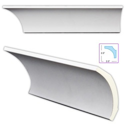 This style of cove molding that was popular during the Arts and Crafts movement .