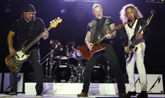 Looking back at some of the highlights of 2017 I'd have to say that METALLICA going on tour was a big one! Full story on 95wiilrock.com