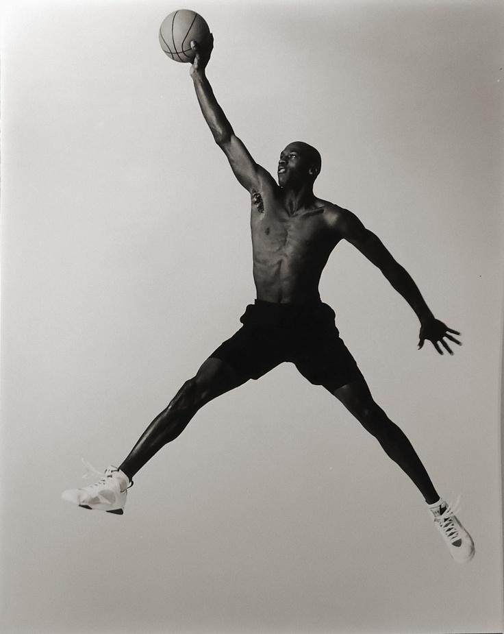 Jordan by Annie Leibovitz