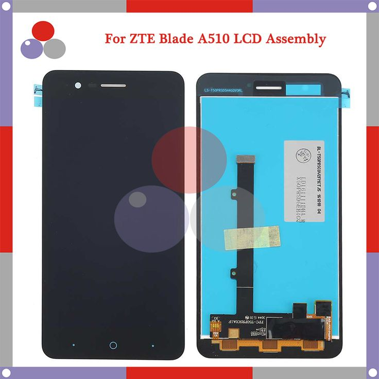 Kualitas tertinggi untuk zte blade a510 lcd layar + layar sentuh digitizer perakitan pengiriman gratis