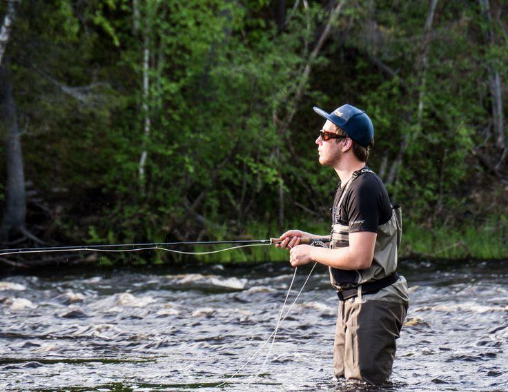Pello – Suomen kalastuspääkaupunki: perhonkalastusta Torniojoella Länsi-Lapissa