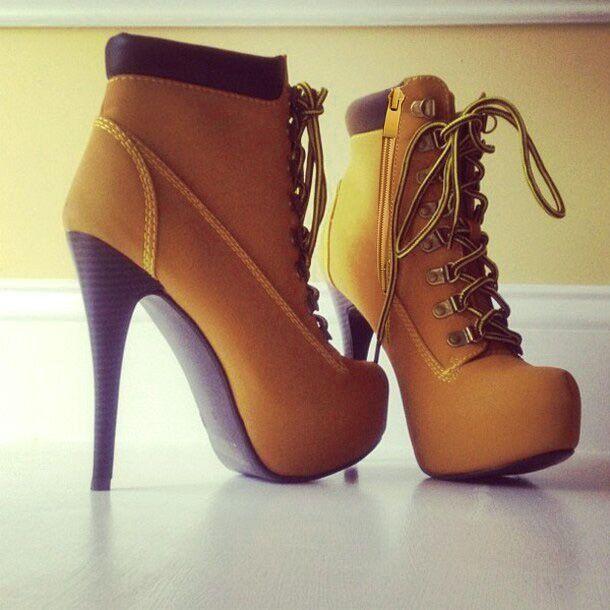 Vintage Waterproof Stiletto High Heels Shoes