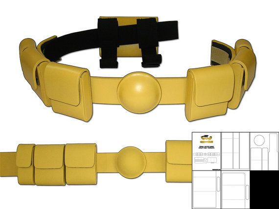 Template for Young Justice Robin Utility Belt by TheFoamCave