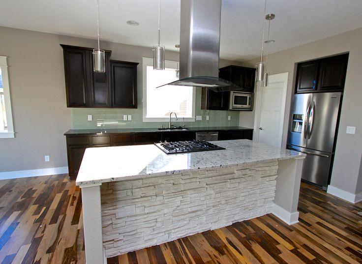 Log Kitchen Island
