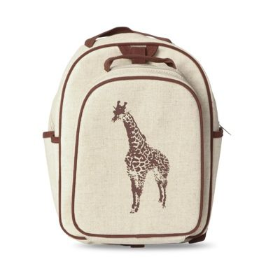 So Young Toddler Backpack (Brown Giraffe) $65.00