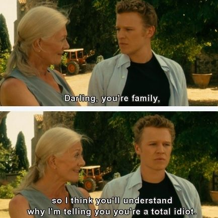 Letters To Juliet. Lol :) gahhhh this movie.<<I now believe fully that I will in fact die alone